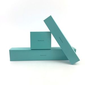 TIFFANY & Co Set of 3 Jewelry Storage Display Box
